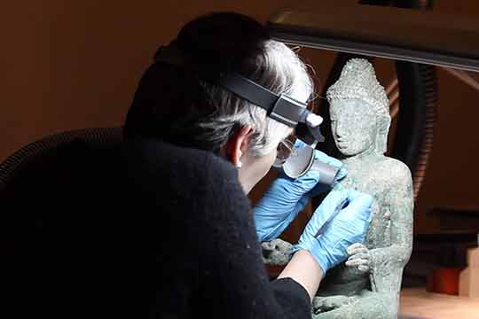 Asia Society: Behind-the-scenes look at restoring Buddhist Art from Myanmar