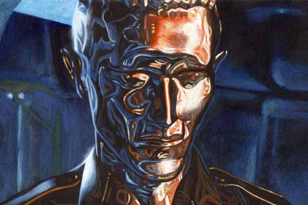 Terminator T-1000 robot - style transformable machine developed in China