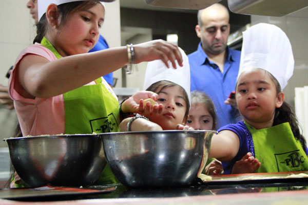 Kids enjoyed cooking on Easter Sunday at JW Marriott, Pune
