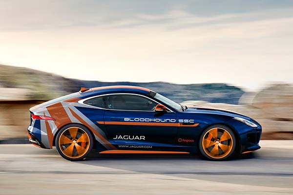 Jaguar to debut Bloodhound F-TYPE Rapid Response Vehicle at Coventry MotoFest