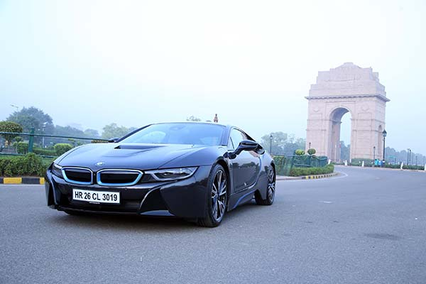 'World Green Car of the Year'- BMW i8 celebrates World Environment Day at 'FAME India Eco Drive 2015' in Delhi