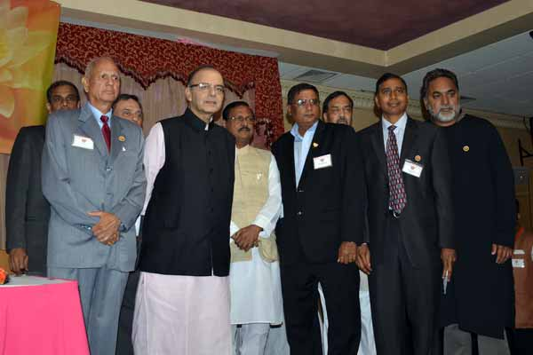 OFBJP and Telangana NRI BJP meet Arun Jaitley