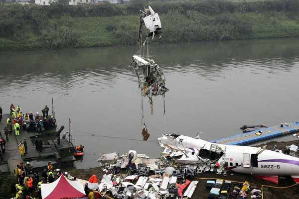 Taiwan pilot shut off engine before air crash: Report