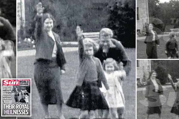 British tabloid publishes video of Queen's Nazi Salute; Buckingham Palace furious