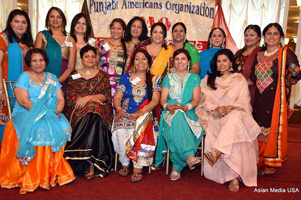 A Colorful Enchanting Teeyan Da Mela Organized by Punjabi American Organization, Chicago
