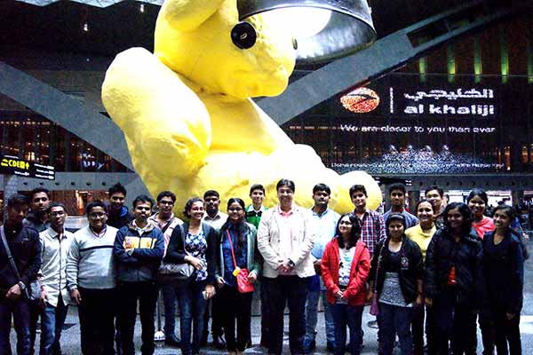 A.K.Educational Consultants 2015 student batch leaves for Russian Federation to study medicine