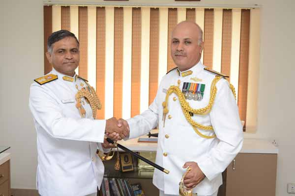 Rear Admiral Sanjay Mahindru Takes Over as Flag Officer Submarines
