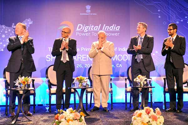 Digital India 'unmatched in history'; Modi to Silicon Valley