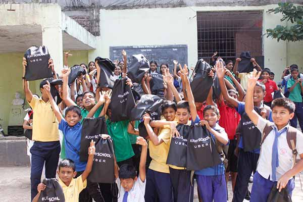 Uber partnered with Teach for India foundation on Teacher's day