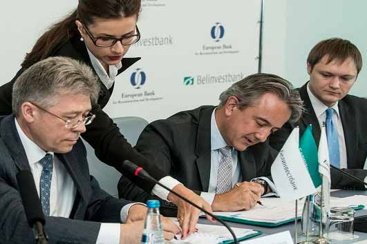EBRD in €50 million financing to Belinvestbank