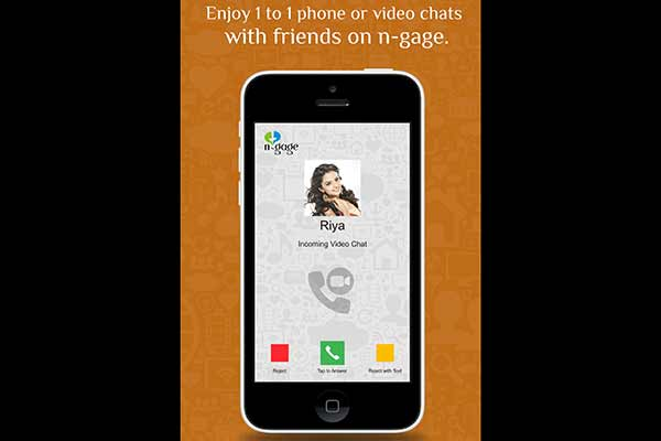 n-gage,  the 360 degree lifestyle Chat-app to enable video calling across other messenger apps
