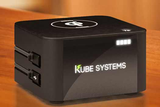 The gift that keeps on giving in 2016: Mobile device charging from Kube Systems