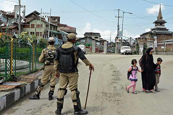 Strict restrictions in Srinagar to stop 'Anti-India' protests