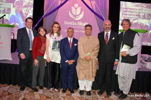 A strong appeal made at Sonia Shah Organization annual gala
