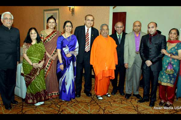 Chinmaya Mission Chicago annual fundraising - We Stand as One Family