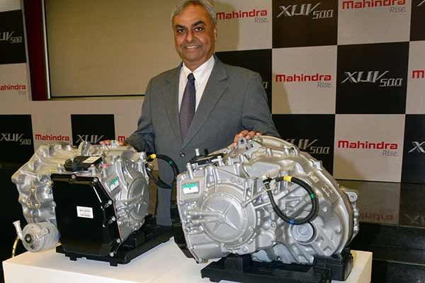 Mahindra introduces the all new automatic transmission of the New Age XUV500