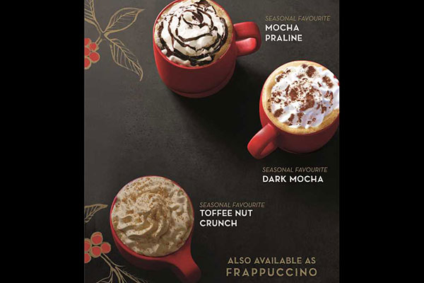 Let the season begin at Starbucks with delightful Christmas offerings