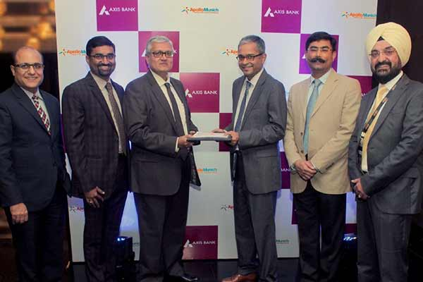 Axis Bank partners with Apollo Munich to offer Bespoke health insurance solutions to its customers