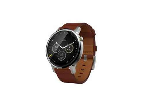 Now get your hands on the Moto 360 (2nd Gen) Men's Collection on Amazon.in
