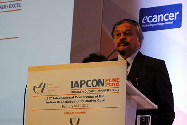 Palliative Care should be integrated with National Health Scheme - Justice S R Bannurmath