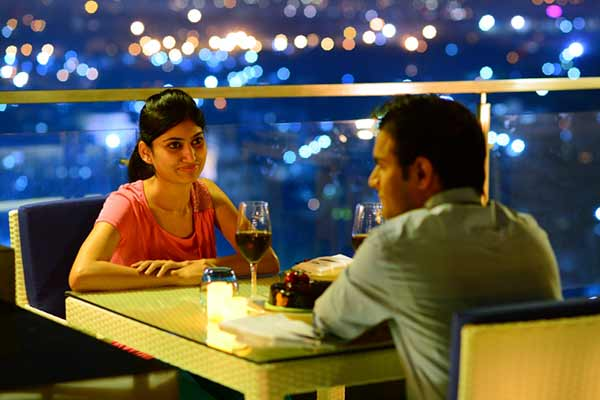 Level 12@ Doubletree by Hilton makes your valentine date more special Enjoy the sparkling wine and romanticize the day of love