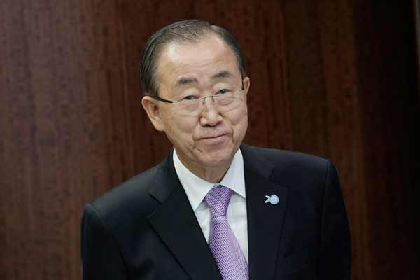 Ban Ki-moon in Baghdad for talks