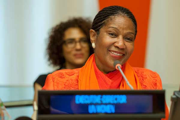 At Security Council, UN Women chief urges greater input, visibility of women in peacebuilding