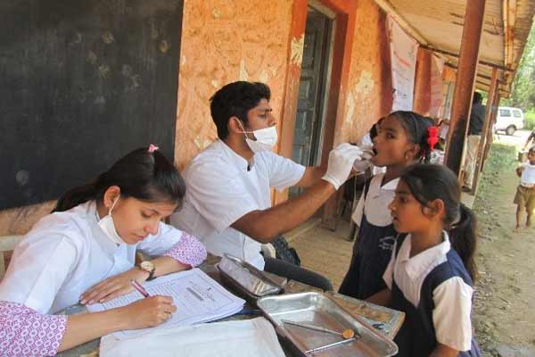 Tata Power organises Dental Checkup Camp for School Children in Pune