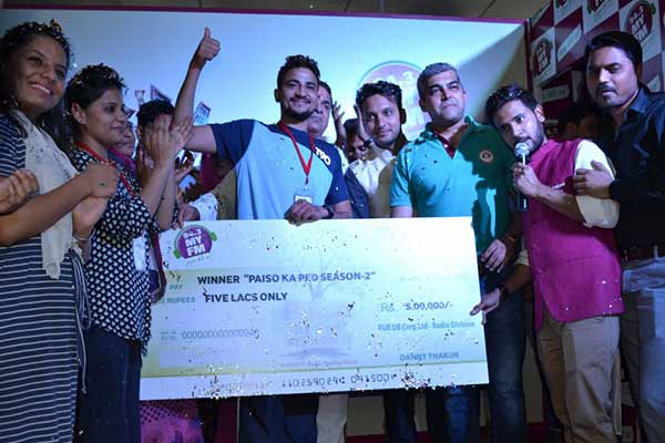94.3 My FM announces the winner of Paison ka ped season II