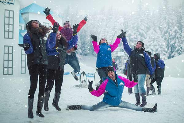 Imagica adds a Snow park this summer