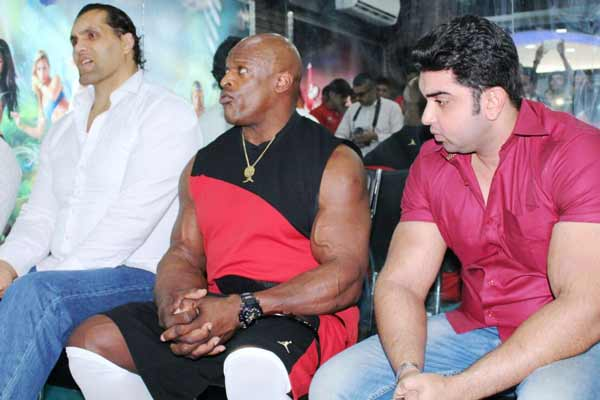 Conversation with The Great Khali & Ronnie Colman
