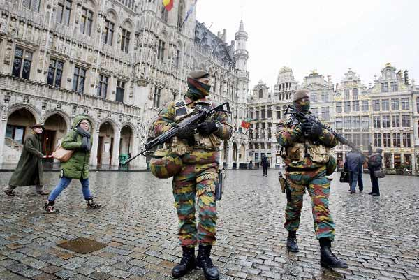 High security in Brussels as extremist trial underway