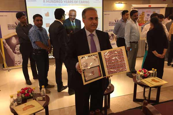 Tata Power commemorates its Centenary journey by releasing a postage stamp