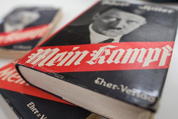 Italian newspaper publishes Hitler's 'Mein Kampf'; hands out free copies