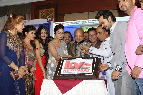 A grand & spectacular music launch of movie 'Love Ke Funday' in Mumbai