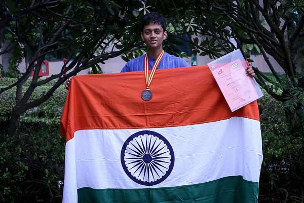 Indian student wins bronze at the 14th International Linguistics Olympiad, held in Mysore