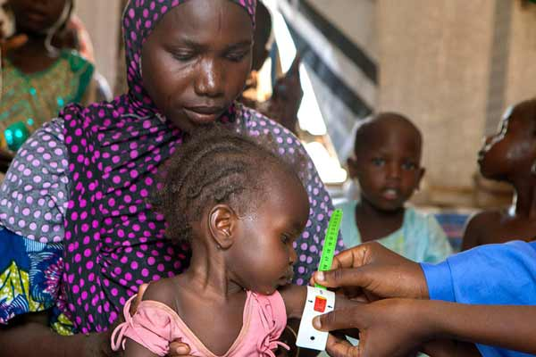 Children starving in parts of Nigeria held by Boko Haram, UN children's agency warns