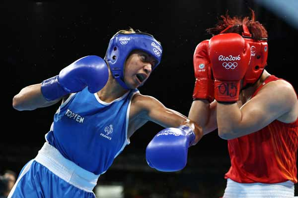 Rio 2016: Mossely boxes her way to birthday gold