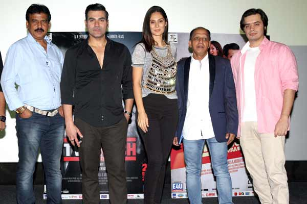 Celebs at brand new trailer launch of film Yea Toh Two Much Ho Gayaa
