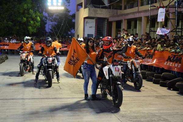 KTM hosts successful edition of Orange Day in Pune