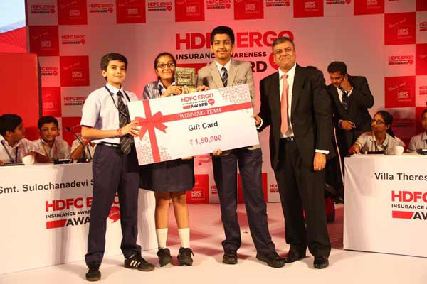 HDFC ERGO organizes the first HDFC ERGO Insurance Awareness Award Junior – Quiz for the GenZ