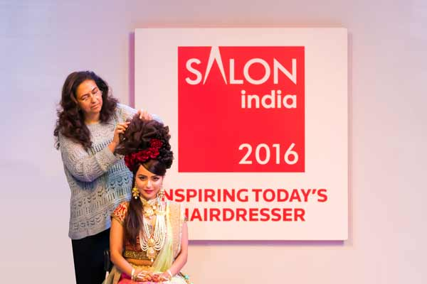 Seema V. Jerajani presented her Hair Show at Salon India in Mumbai,  launched by Professional Beauty