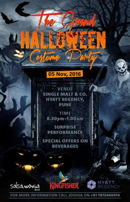 THE GRAND HALLOWEEN COSTUME PARTY