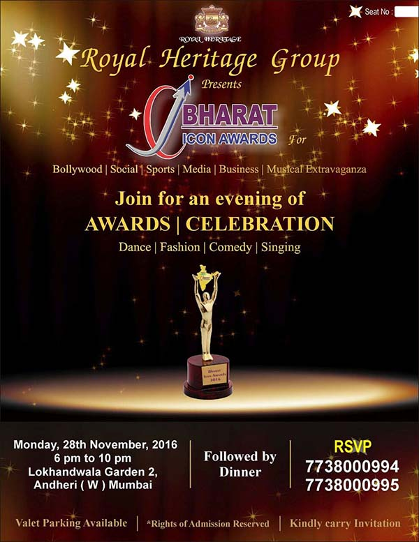 Bharat Icon Award announced the list of awardees