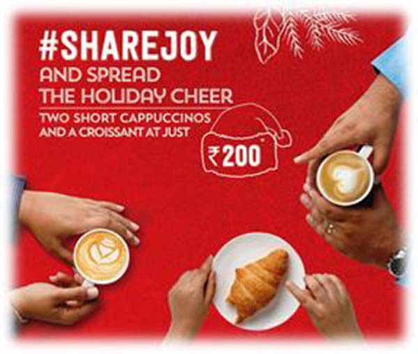 #ShareJoy and spread the Holiday Cheer with Starbucks this season