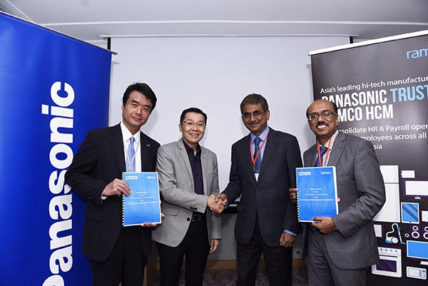 Ramco Systems signs multi-million dollar deal with Panasonic Group of companies in Malaysia