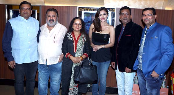 Special screening of film Prakash Electronics at Juhu PVR