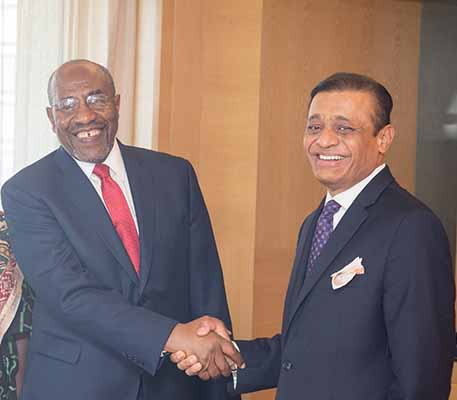 Republic of Uganda looking at boosting trade ties with India; commissions the Consulate General office in Mumbai