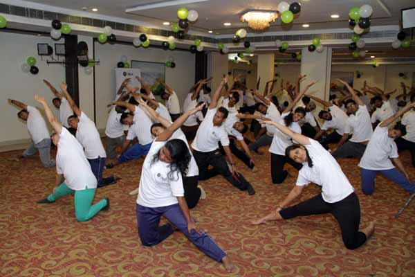 Ola celebrates International Yoga Day with free yoga session for Driver Partners