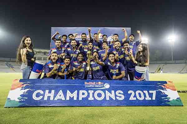 MMCC Pune, the defending champions retain the title of Red Bull Campus Cricket India Champions in 2017